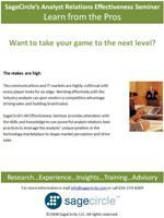 SageCircle Training - AR EffectivenessSeminar