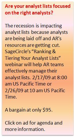 SageCircle Webinar - Ranking and Tiering Your Analyst List