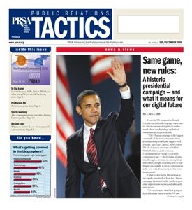 PR Tactics Magazine